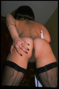 Ansehnliche Frauen die Nylons tragen - schwarze Nylons